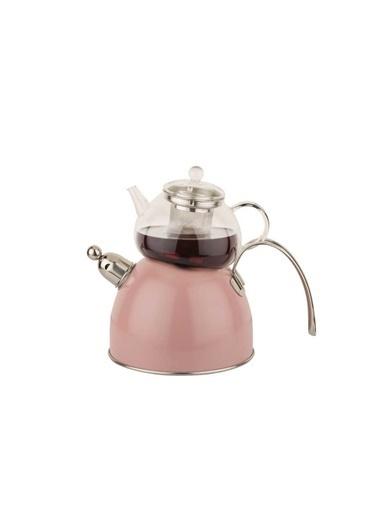 Chef Nature Pembe Düdüklü Çaydanlık Takımı-Tantitoni